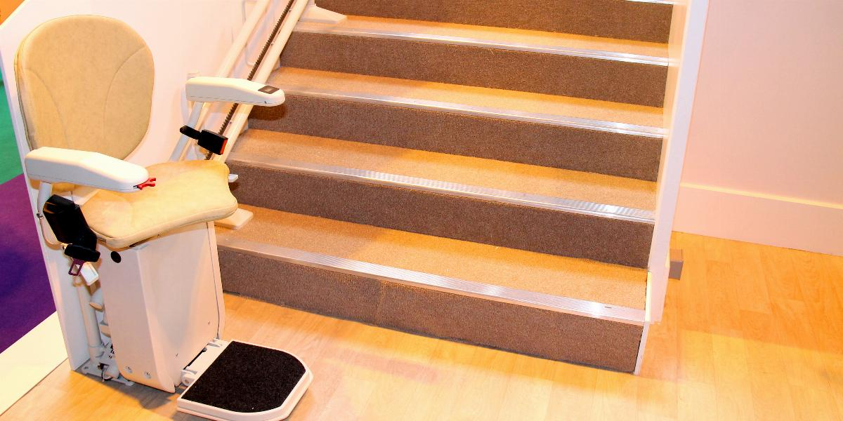 banner of Stair and Chair Lifts Can Make Any Building More Accessible